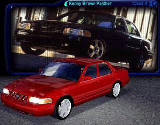 Ford Crown Victoria Kenny Brown Panther Edition