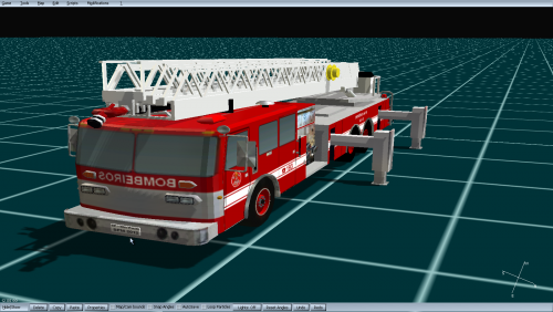 Simon-Duplex Ladder - 3D Models - International Emergency